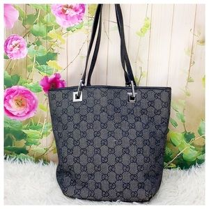 Authentic Gucci GG Monogram Shoulder Bag